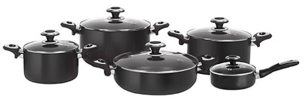 سرویس پخت و پز 10 پارچه هاردآنادایزد کارال مدل آترینا
