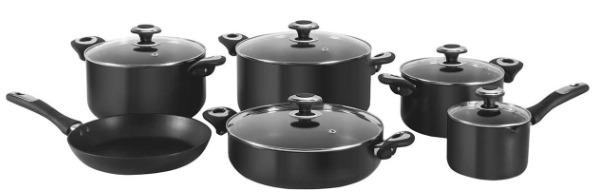 سرویس پخت و پز 11 پارچه کارال هاردآنادایزد مدل رز