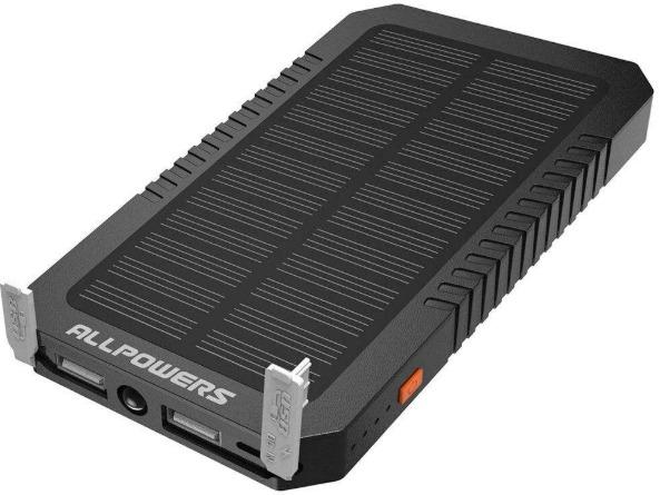 شارژر همراه خورشیدی آل پاورز مدل AP-SP-12 ظرفیت 12000 میلی آمپر ساعت