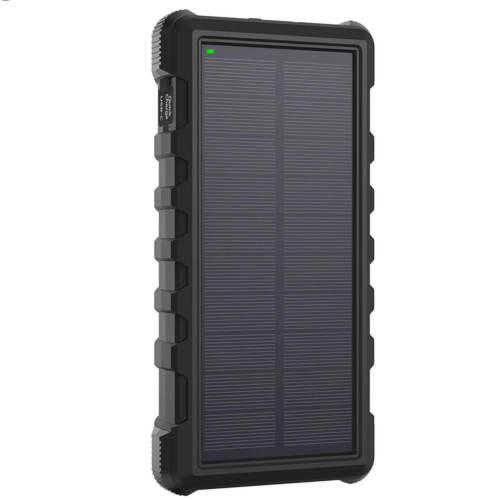 شارژر همراه خورشیدی راو پاور مدل RP-PB083 ظرفیت 25000 میلی آمپر ساعت