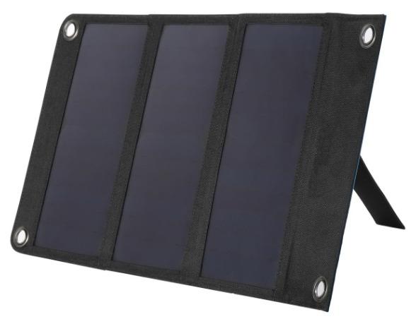شارژر همراه خورشیدی واگان کد 2124 ظرفیت 10000 میلی آمپر ساعت