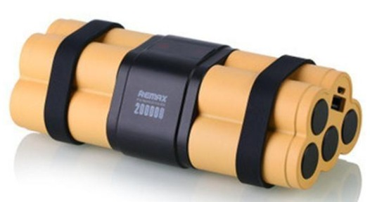 شارژر همراه ریمکس مدل Timebomb ظرفیت 20000 میلی آمپر ساعت