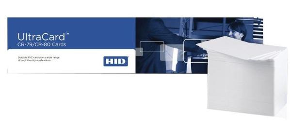 کارت پی وی سی فارگو مدل Ultracard خام سفید بسته 500 عددی