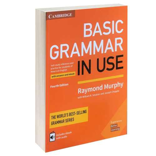 کتاب BASIC GRAMMAR IN USE اثر Raymond Murphy انتشارات CAMBRIDGE