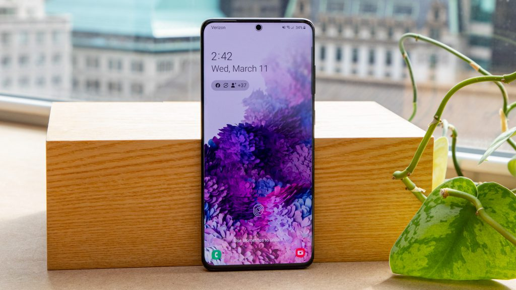 بررسی و خرید گوشی موبایل سامسونگ مدل Galaxy S20 Plus-