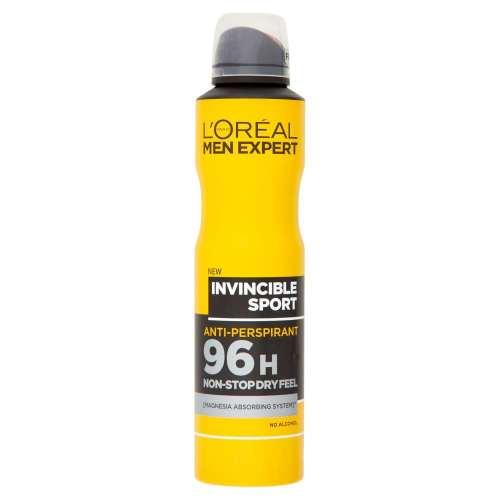 اسپری ضد تعریق مردانه لورآل سری Men Expert مدل Invincible sport حجم 250 میلی لیتر