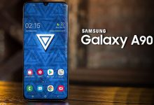 Samsung-Galaxy-A90-5G-and-black-front-and-back