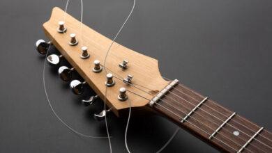 تصویر قیمت و خرید سیم گیتار الکتریک و کلاسیک